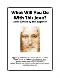 Cover art for What Will You Do With This Jesus? (TTBB)