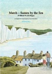 Cover art for Solo Horn E^b part from BRASS BAND - March - Sussex By The Sea