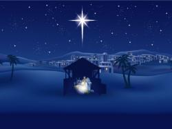 Cover art for Soprano part from O Holy Night (ADAM) Christmas Anthem for 4-part (SATB) mixed voices Choir with Piano accompaniment, Soprano Solo and Violin, arr. by Pamela Webb Tubbs