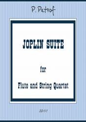Cover art for Flute part from  Joplin-Suite - PLEASANT MOMENTS