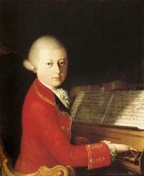 Cover art for bas part from Abendempfindung (Mozart)