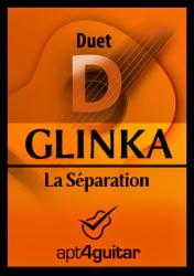 Cover art for La Séparation for guitar duet