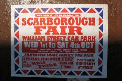 Cover art for Clarinet in Bb part from Scarborough Fair