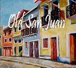 Cover art for Piano part from Old San Juan