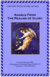 Cover art for Horn 2 in F part from Angels From The Realms of Glory (Christmas) IRIS - Concert Band