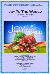 Cover art for String Bass part from Joy To The World  (Christmas) - Concert Band
