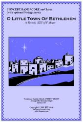 Cover art for 2nd Trombone TC part from O Little Town Of  Bethlehem - Forrest Green (Christmas) - Concert Band
