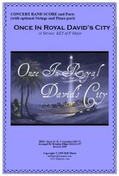 Cover art for Flute part from Once In Royal David's City (Christmas) - Concert Band