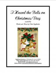 Cover art for Handbells part from I Heard the Bells on Christmas Day, SATB, New Tune