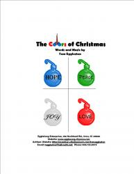 Cover art for Bass part from The Colors of Christmas (2-part Choir with Congregation) - Vocal Part