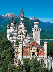 Cover art for Trumpet 1 in B^b part from Neuschwanstein - March