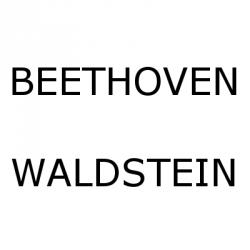 "Cover art for Beethoven - Grande Sonate Op. 53 (""Waldstein"")"