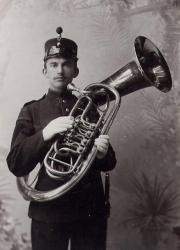 Cover art for Trumpet 1 part from Fanfare