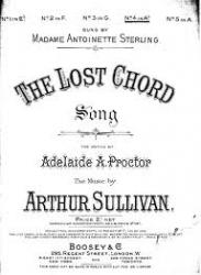 Cover art for Euphonium part from The Lost Chord