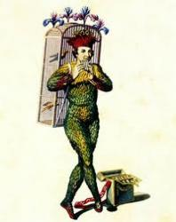 Cover art for 2nd Cornet part from March from The Magic Flute