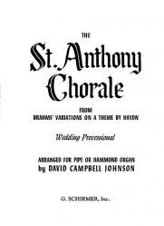 Cover art for St Antoni Chorale