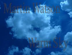 Cover art for Clarinet 2 part from Warm Sky for Clarinet Quartet.