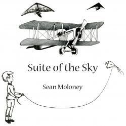 Cover art for Harp part from Suite of the Sky