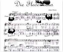 "Cover art for Tuba part from ""Die Fledermaus"" Overture"