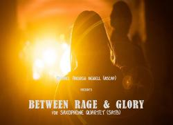 Cover art for Baritone Saxophone part from Between Rage & Glory