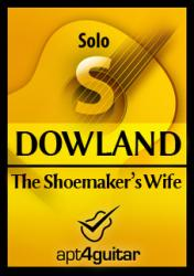 Cover art for The Shoemaker's Wife for solo guitar