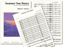 Cover art for Tuba part from Summer Sun Dance - Concert Band