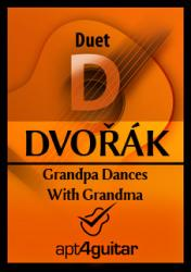 Cover art for Guitar 1 part from Grandpa Dances With Grandma for guitar duet