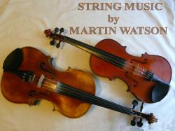Cover art for Violin II part from When Johnny Comes Marching Home for Strings