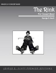 Cover art for 2nd Trumpet part from The Rink - Silent Film Score (Grade 2.5 Concert Band)