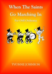 Cover art for Alto Xyl. part from When The Saints Go Marching In For Orff Orchestra