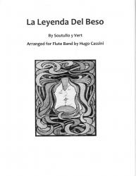Cover art for Piccolo part from Intermedio from La Leyenda Del Beso for Flute Choir
