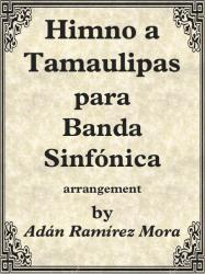 Cover art for Trumpet in B^b^ II-III part from HIMNO A TAMAULIPAS