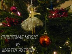 Cover art for Violin 1 part from Three Christmas Carols for Two Violins and Piano