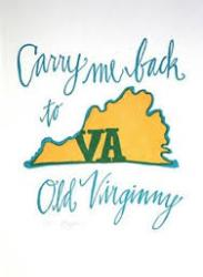 Cover art for Carry Me Back to Old Virginny-Old Plantation Hymn