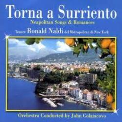 Cover art for Come Back To Sorrento(Torna a Surriento) for Eb Alto Saxophone & Piano