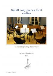 Cover art for Violin II part from In the Carousel