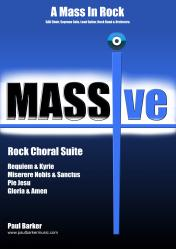 Cover art for Piano part from MASSIve- A Mass In Rock: 1.Requiem and Kyrie (Vocal/Piano Score)