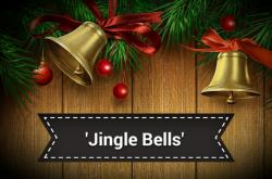 Cover art for Alto Clarinet in Eb (replaces Bass Clarinet) part from Jingle Bells (Clarinet Quartet)