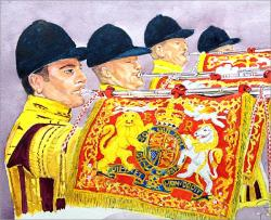 Cover art for Londonderry Air & Cavalry Last Post for solo Eb Cavalry Trumpet & Concert Band