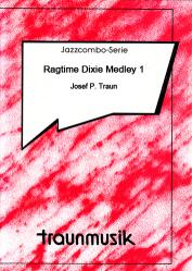 Cover art for Bass part from Ragtime Dixie Medley 1 (JCO/Score & Parts)