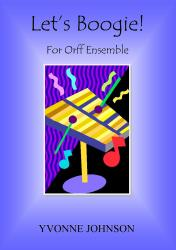 Cover art for Let's Boogie! For Orff Ensemble