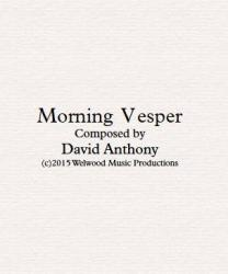 Cover art for Timpani part from Morning Vesper -Full Score