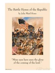 Cover art for Battle Hymn of the Republic ''Mine Eyes Have Seen the Glory'' for Brass Quintet