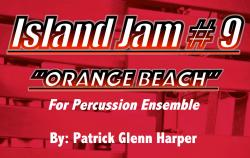 Cover art for Agogo Bells part from Island Jam #9 - for Percussion Ensemble
