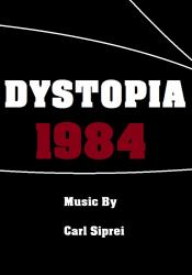 Cover art for Electric Bass part from Dystopia 1984