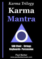 Cover art for Violin Solo part from Karma Mantra II