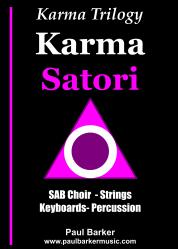 Cover art for Alto part from Karma Satori III