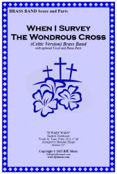 Cover art for Drum Set part from When I Survey The Wondrous Cross (Celtic Version) Brass Band
