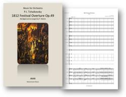 Cover art for Bassoons part from 1812 Festival Overture Op.49