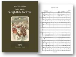 Cover art for Drum Set part from Sleigh Ride for Edie